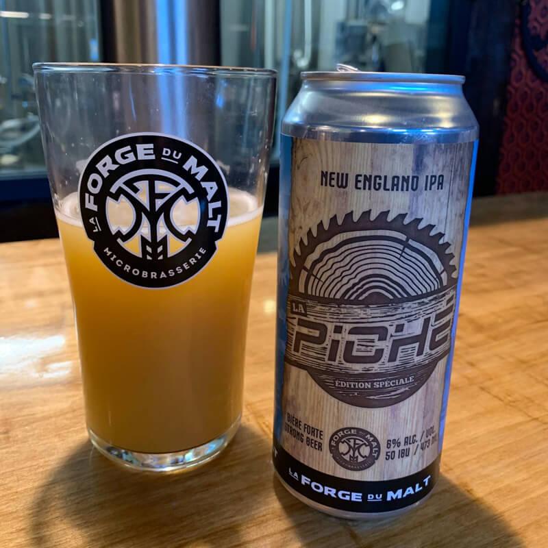 Bière La Piché New England IPA